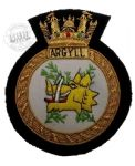 ARGYLL - Blazer Badge~OFFICIALLY LICENCED PRODUCT